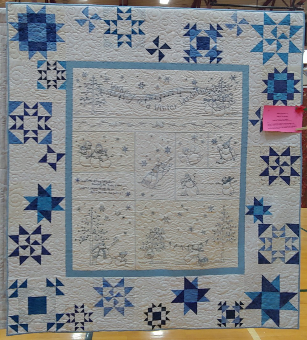 2nd Place Traditional Medium Quilt