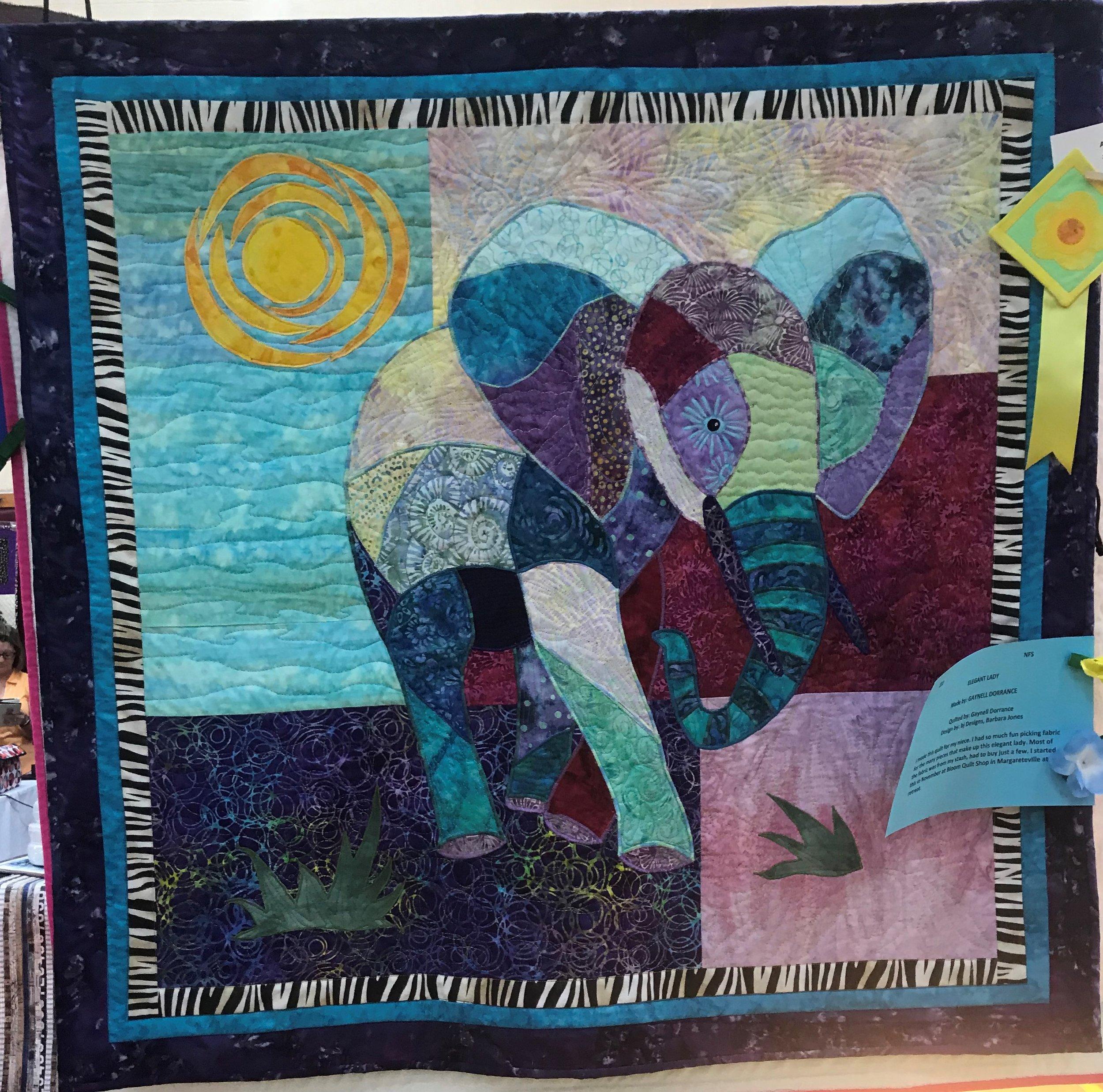 3rd Place Art Quilt