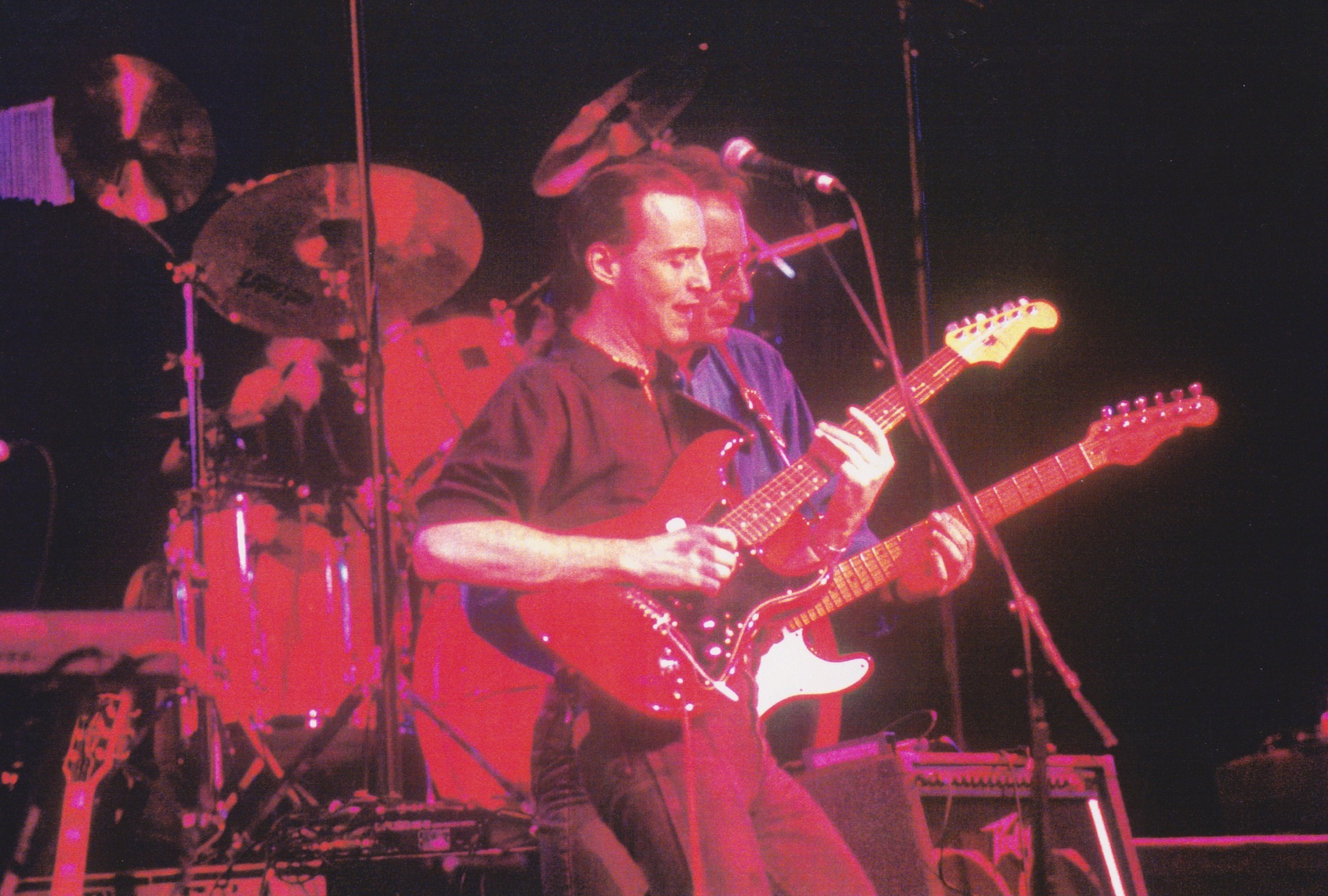 With Jim Messina (1992)