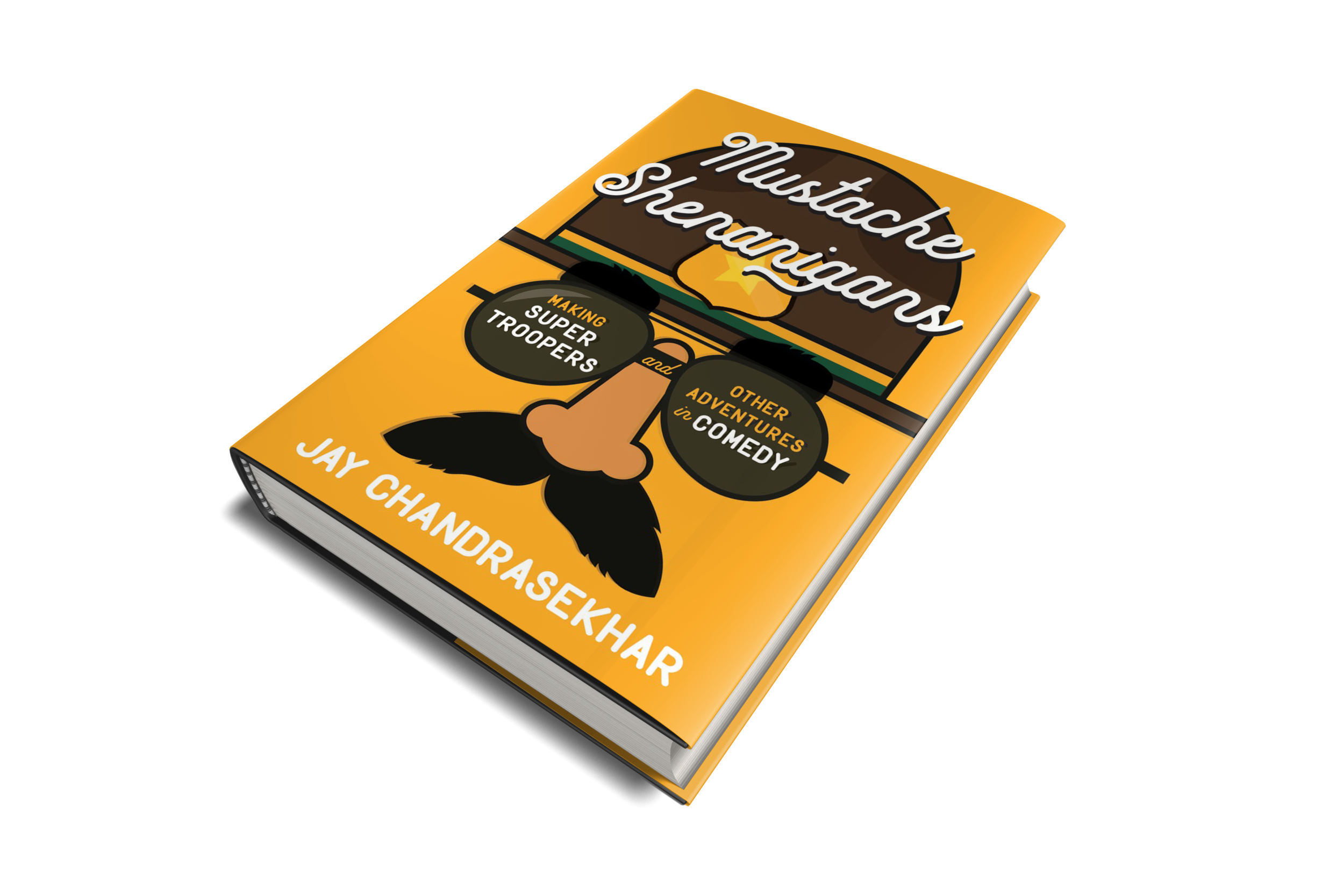 MUStache shenanigans - Get a copy of Jay's book and he'll sign it for you… or even write a personalized message!