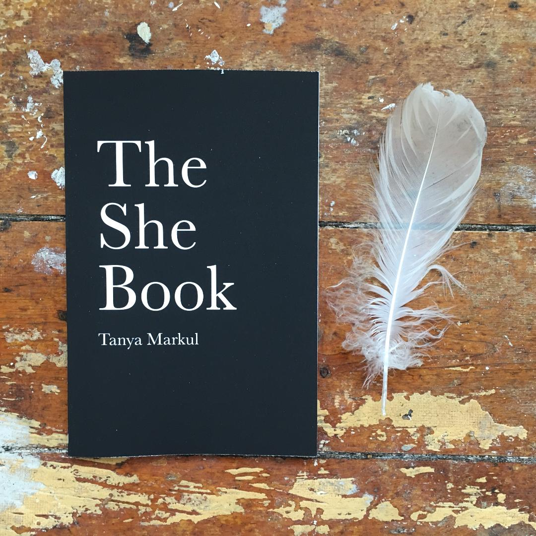 Purchase the new edition of The She Book in any format & join '30 Days Of She' for FREE. Self-led self-exploratory course. Medium: writing & Nature visits. - With love, Tanya