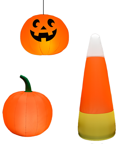 Halloween - Celebrate the spookiest day of the year with some new inflatable fun. Perfect for retail space, events and parties.