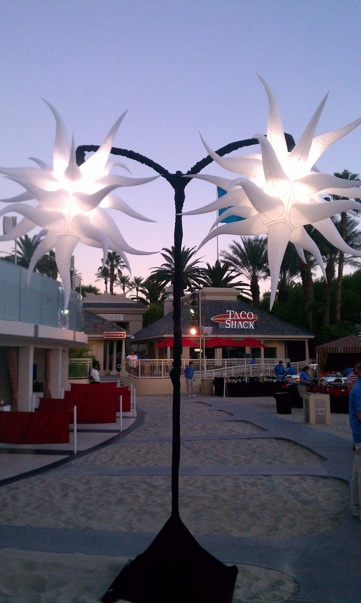 Design C2 of our Stand Out Systems, Outside