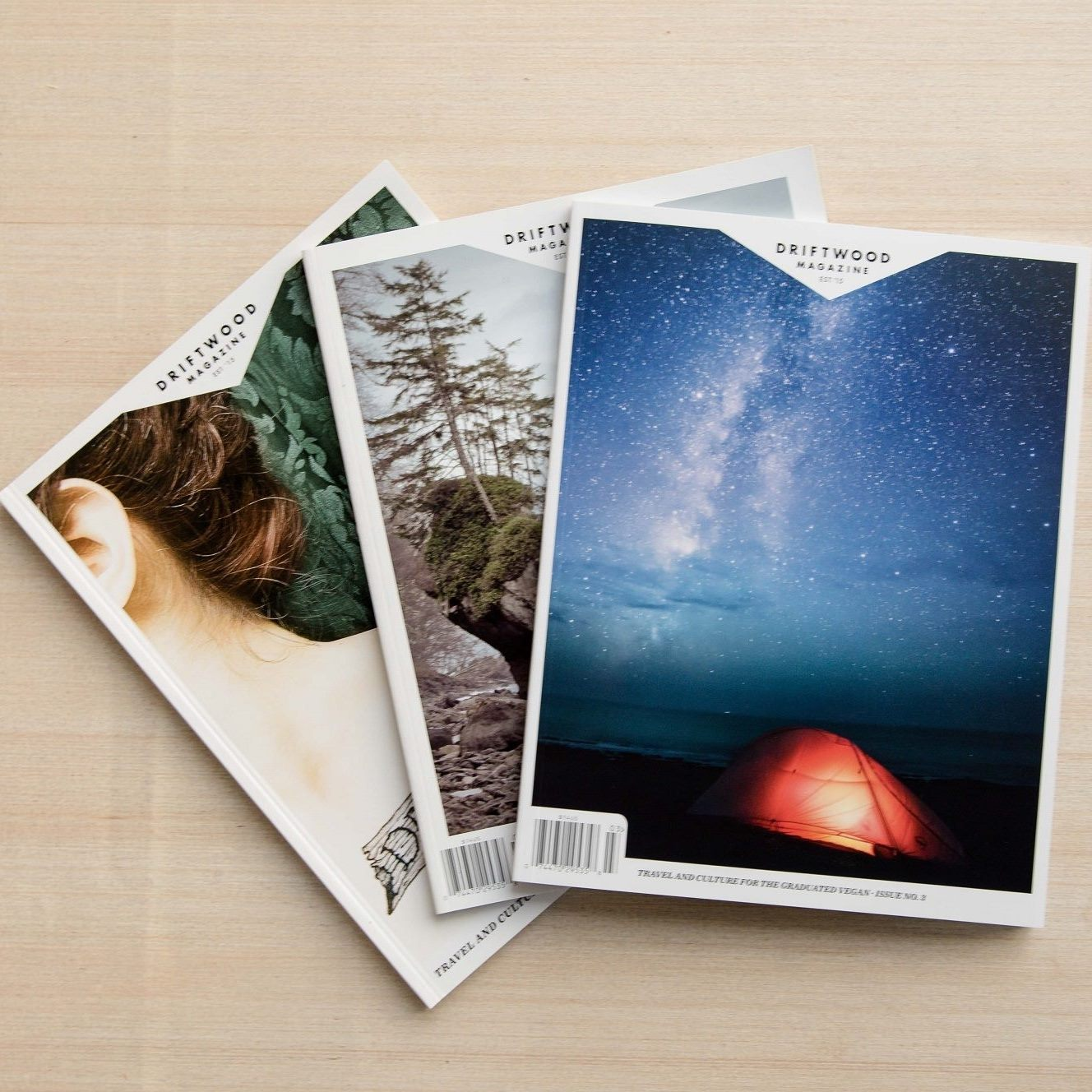 DRIFTWOOD MAGAZINE - Driftwood is a celebration of what is possible in a vegan world, showcasing travel and culture for the graduated vegan. Each issue brings you stories of vegan travel adventures, profiles on people, and advancements in the global vegan community.Subscribe to Driftwood here.