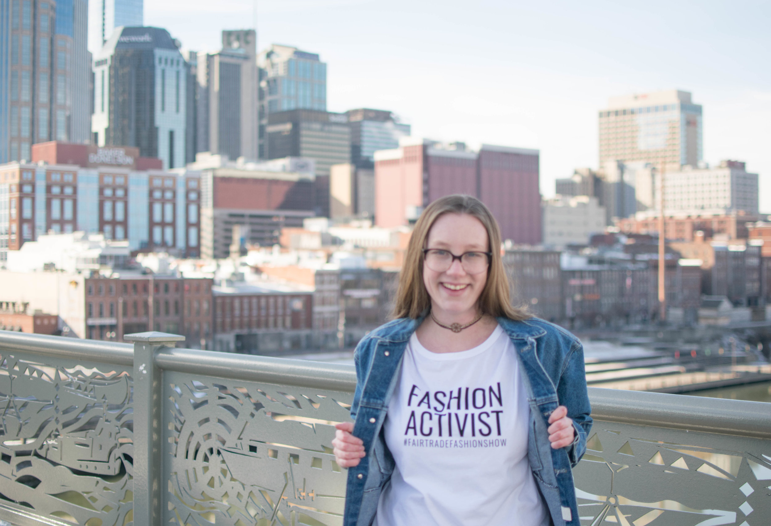 Photo by    The Honest Consumer    wearing    Impact Fashion   's Fashion Activist tee