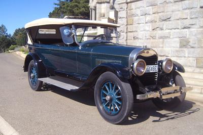1922 Leland-built (pre-Ford) Lincoln 7 passenger touring