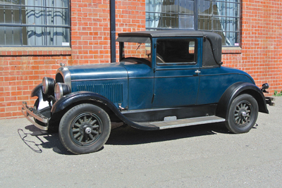 1927 Chrysler Model 70 rumbleseat Coupe