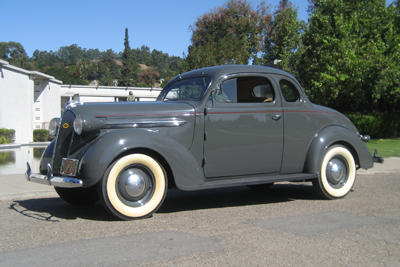 1937 Plymouth Deluxe Business Coupe
