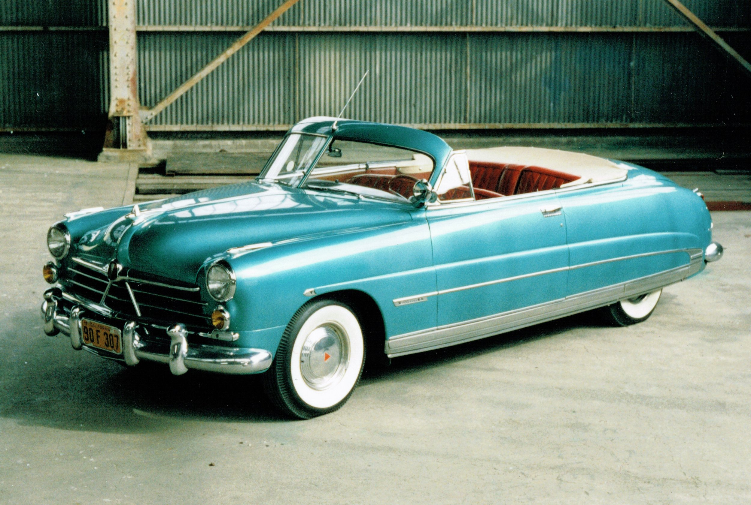 1950 Hudson Commodore Six Convertible Brougham