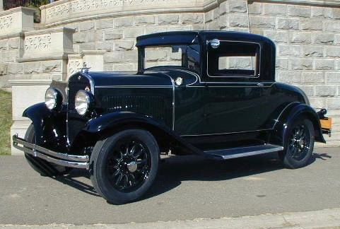 1930 Chrysler Model 66 Business Coupe