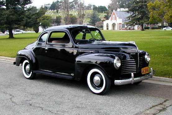 1940 Plymouth Deluxe Business Coupe