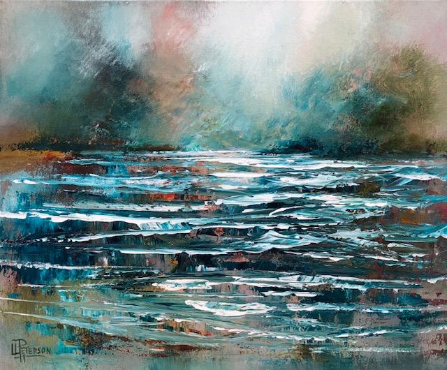 """""""Ripples""""  20x24 Acrylic on Canvas"""
