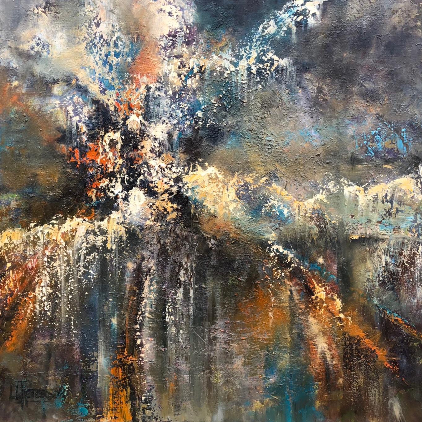 """Exultation"" 36x36 Oil on Canvas"