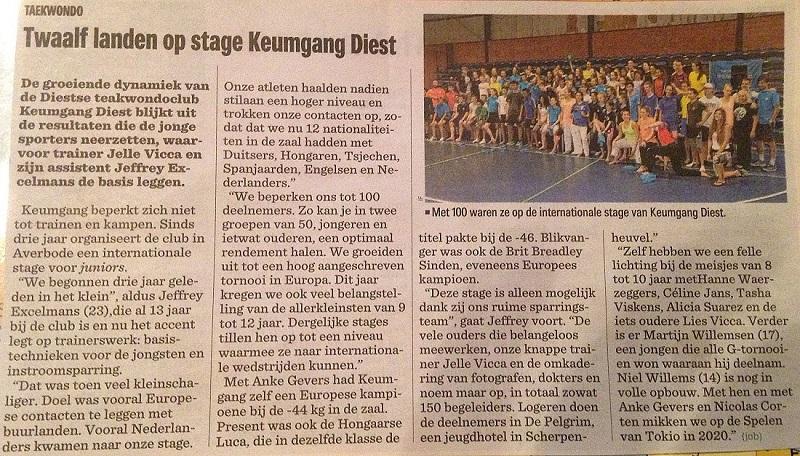 Het Nieuwsblad - International Keumgang Seminar 02-08-2016.jpg