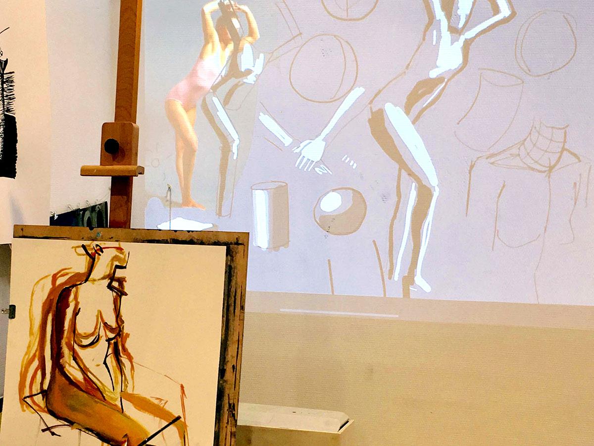 Personnage - L'étude du corps et de ses mouvements, sous toutes ses formes: morphologie, mains, portraits, attitudes…