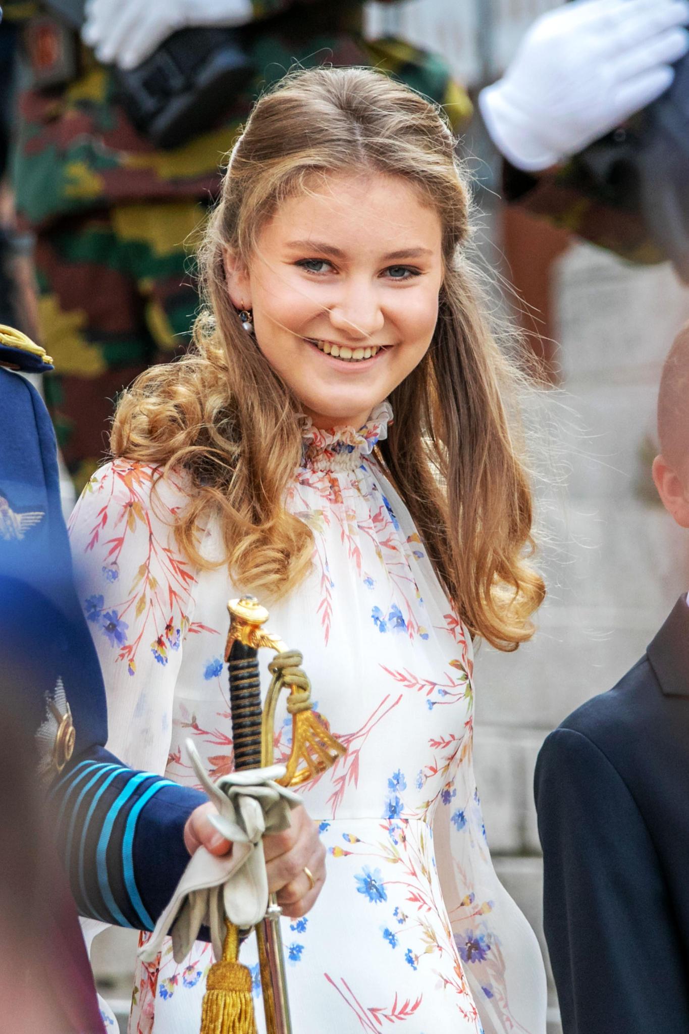 Znalezione obrazy dla zapytania princess elisabeth of belgium 2019