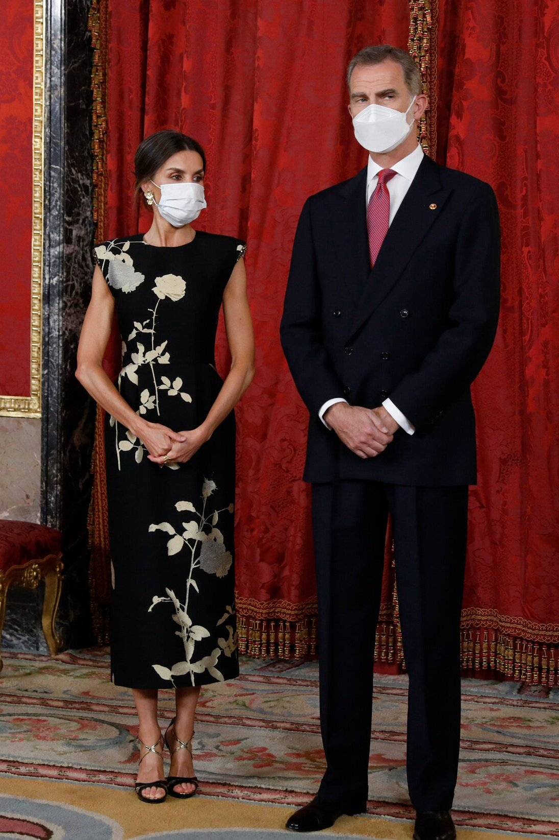 The King and Queen of Spain Host State Banquet for the President and First Lady of South Korea