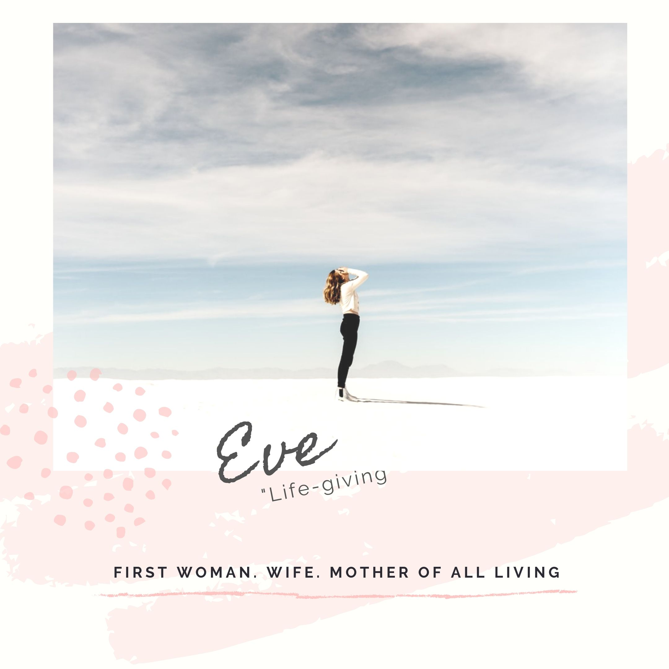 women of the bible eve