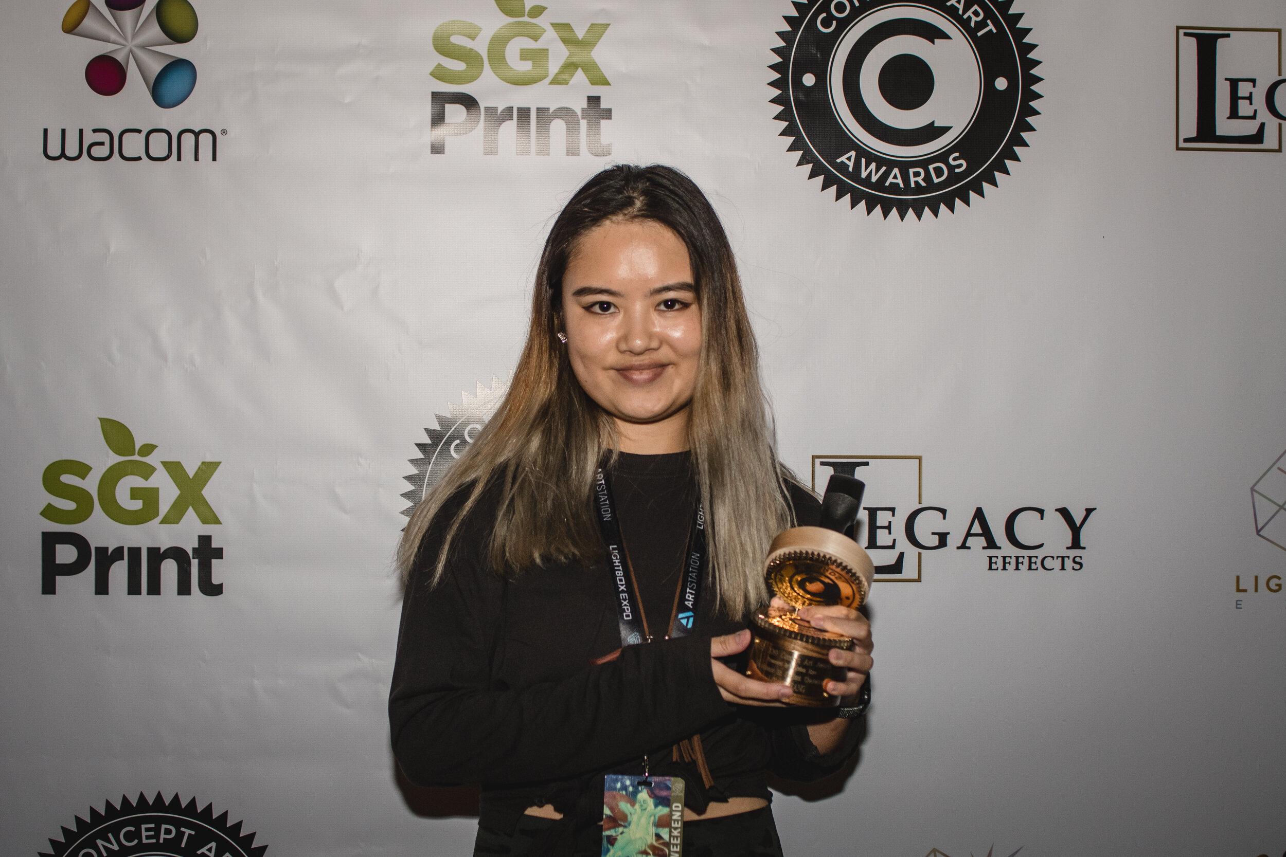 Lola Zhang- Student Character Winner