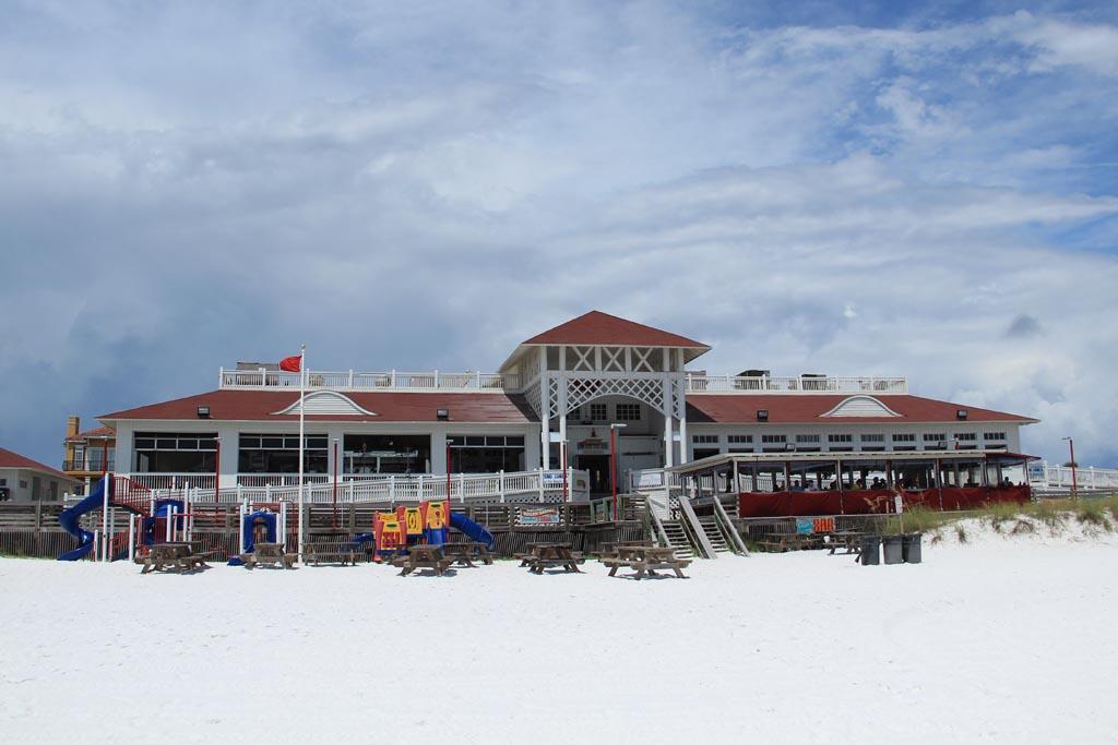 James Lee Park Public Beach & Crab Trap Restaurant