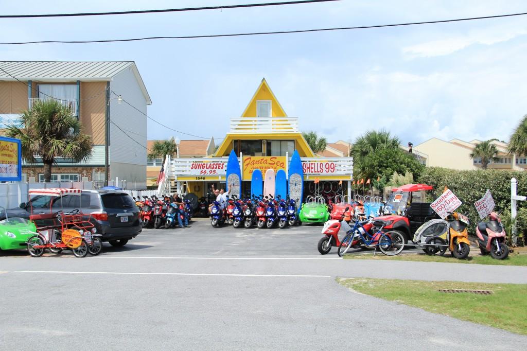 Fanta Sea Scooter Rentals & Beach Supplies