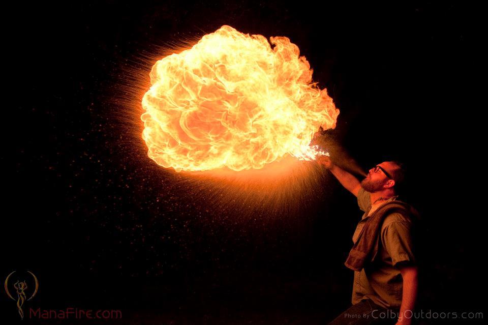 Elijah Fire Breath