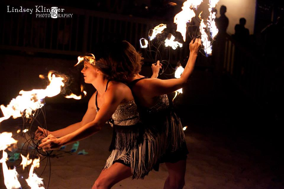Gatsby 4th of July Fire Show -
