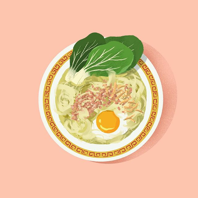 This cold weather is perfect for a bowl of Ban Mian