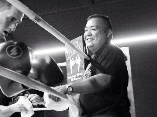 """Boxing Coach """"Champ"""" James Mangubat"""