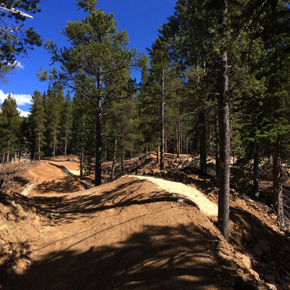 Colorado Bike Park Builders | Elevated Trail Design