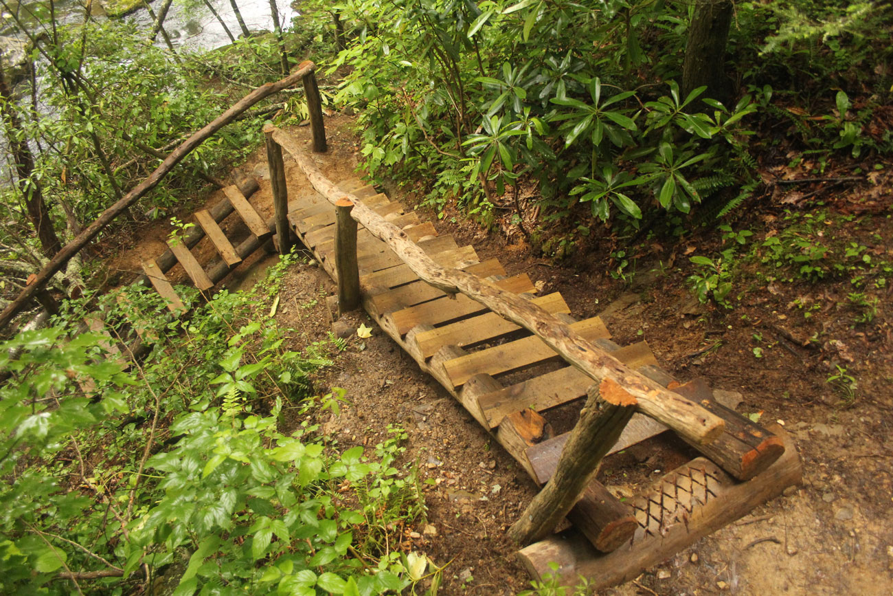 Mountains to Sea Trail | Elevated Trail Design