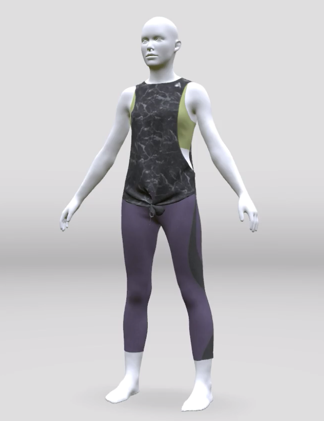 "Fit Validation - Perform real time ""fit validation"" of patterns to your bodies in 3D to increase speed to market & allow designers to create the ideal fit for each garment per body shape."