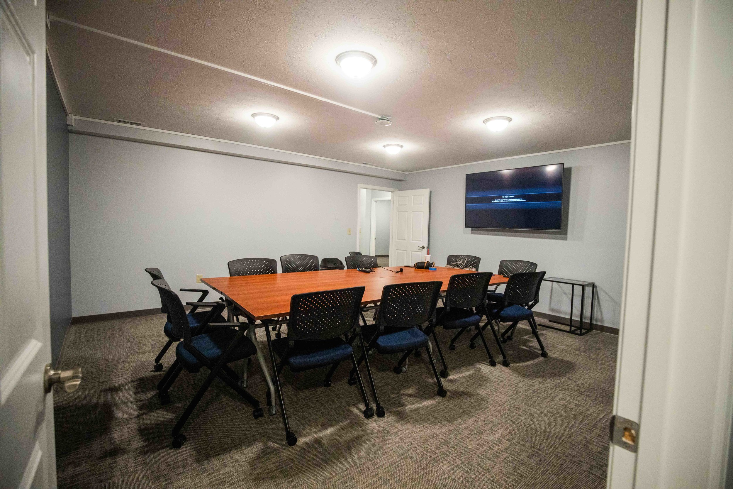 Conference Room - Host your next workshop, lecture, group meeting, lunch and learn, or training here in our conference room.$50/Hour
