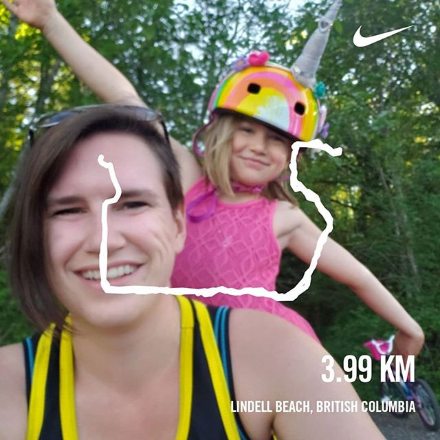 Best running buddy ever. #running #motherrunner #unicorns