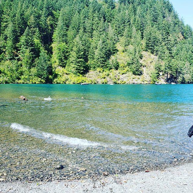Lake day. Life is good.