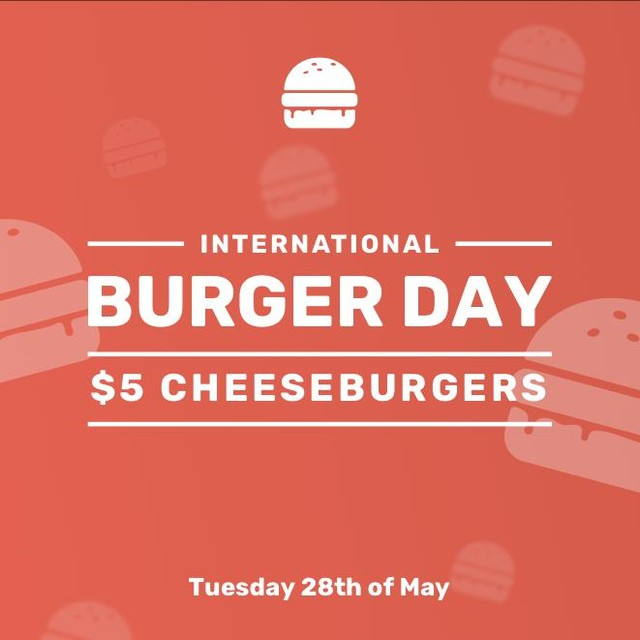 Fuck it's cold⠀ -⠀ Lucky we've got this belter of a deal to warm ya up!⠀ -⠀ May 28th marks every burger eater's favourite day - International Burger Day.⠀ -⠀ To celebrate the occasion we're dishing out $5 cheeseburgers, yeah bro, $5. This is thanks to the champions behind @theburgercollectiveapp.⠀ -⠀ Come in store tomorrow, scan, order and smash.⠀ -⠀ #IMABURGERHEAD