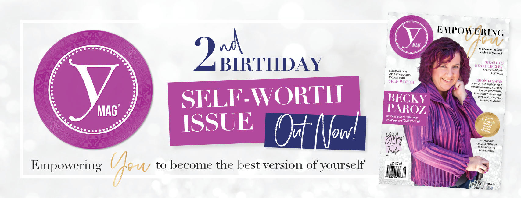 YMag Self-Worth Issue 2nd Birthday