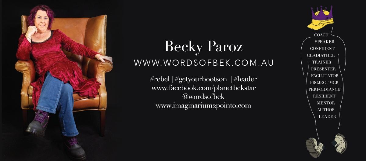 Becky Paroz YMag Ad - Australian Business Women