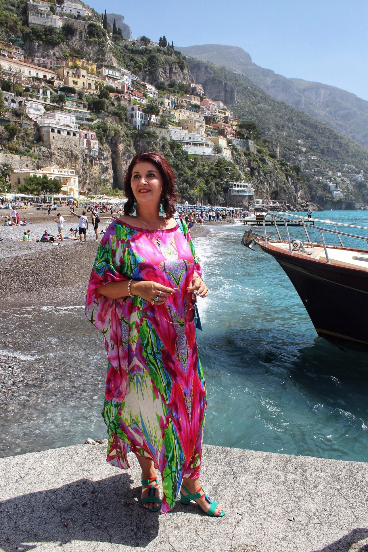 Styled by Mira-Maya. Photo by Vegemite Spaghetti. Positano, Amalfi Coast