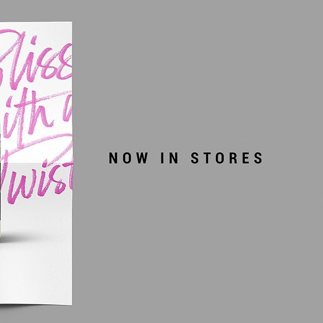 The wait is over! Now is stores #blisswithatwist