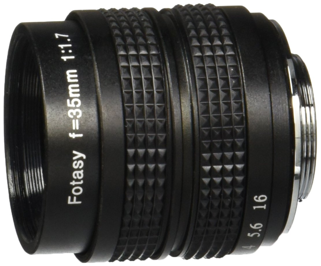 Fotasy 35MM F1.7 + Adapter for LUMIX G7
