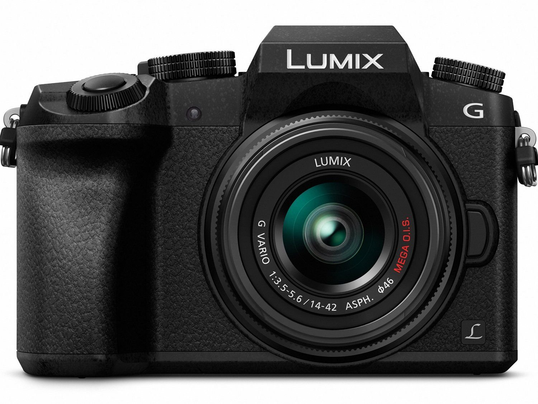 LUMIX G7 w/ 14-42mm (Backup)