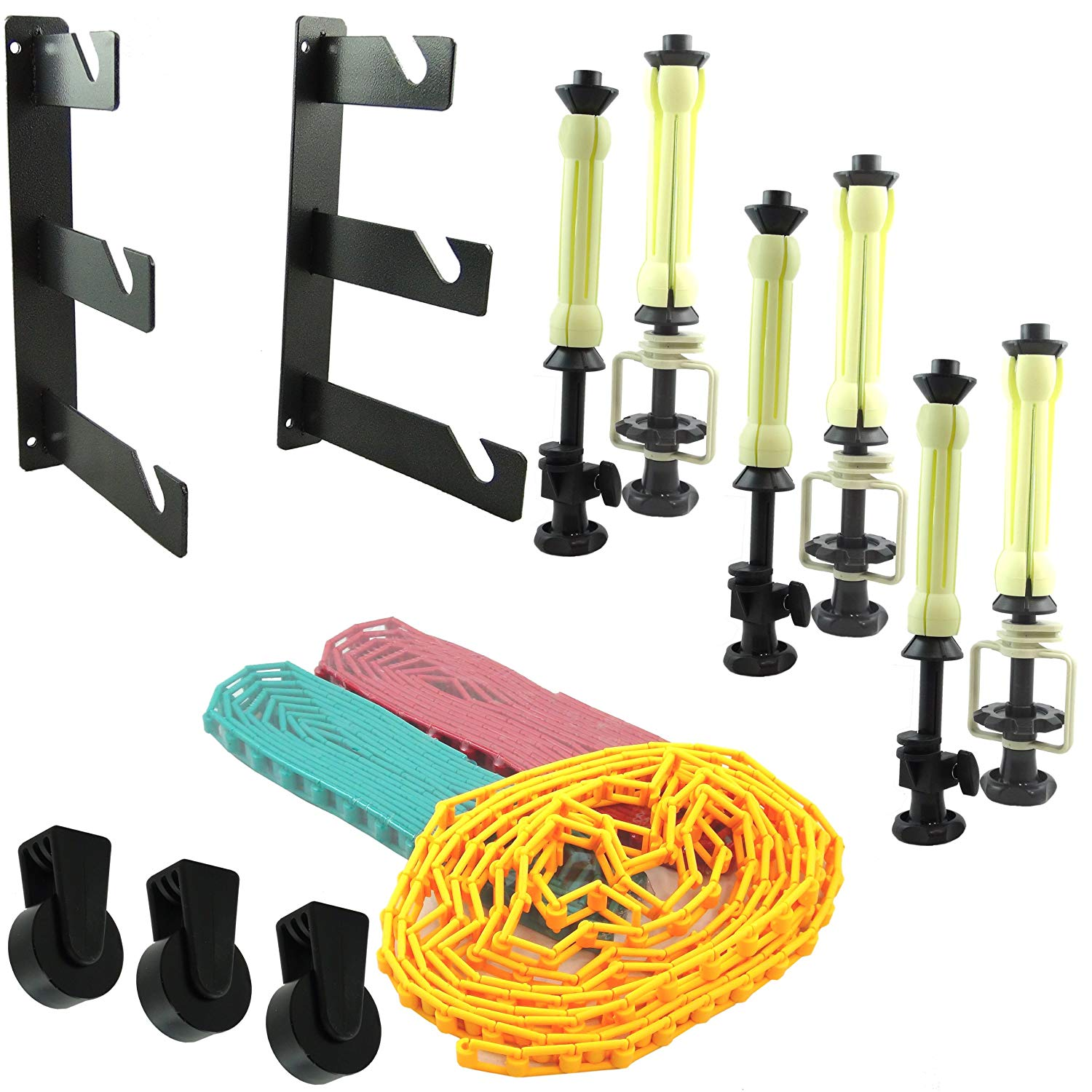 3-Roller Wall Mounting System