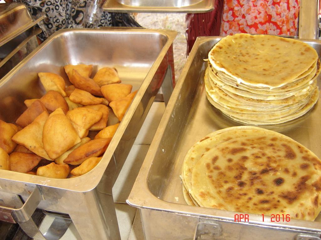 coastal dishes mahamri and chapati