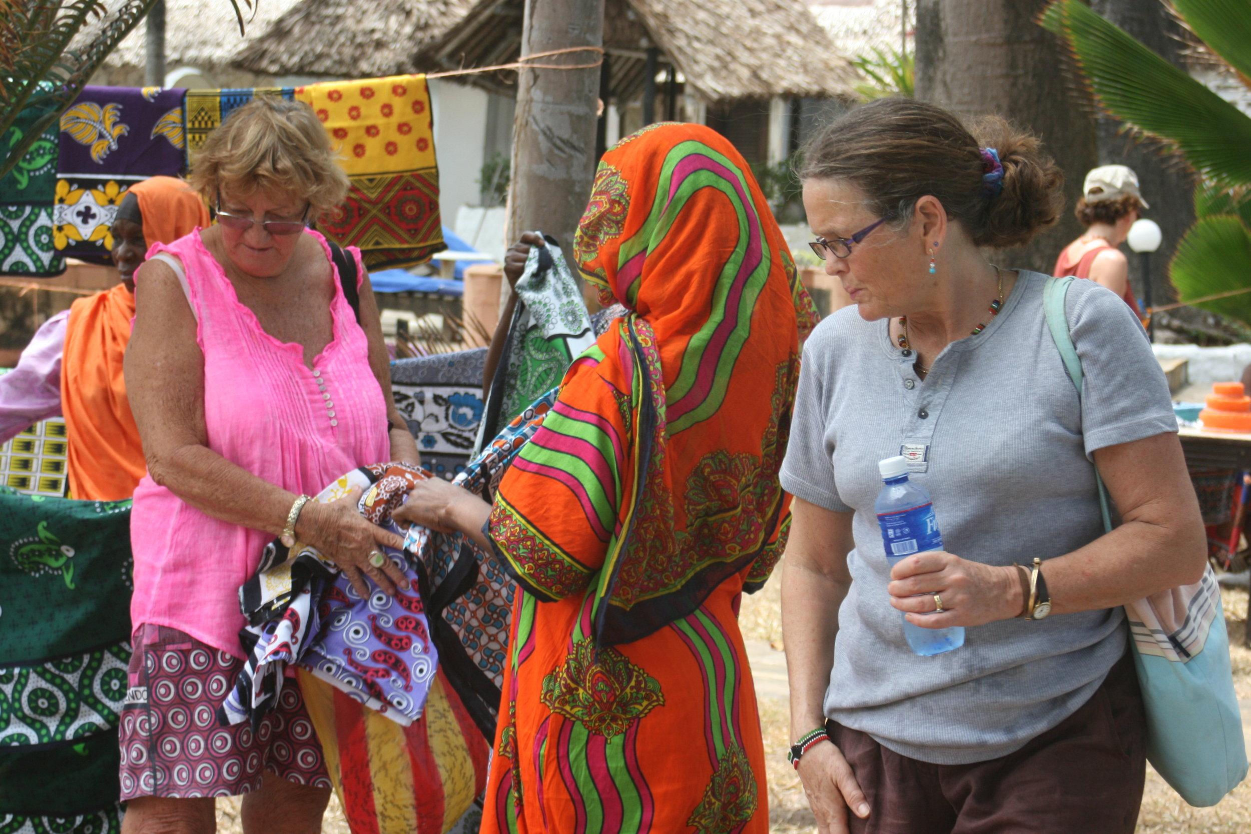 Kenyan lesso Diani regatta