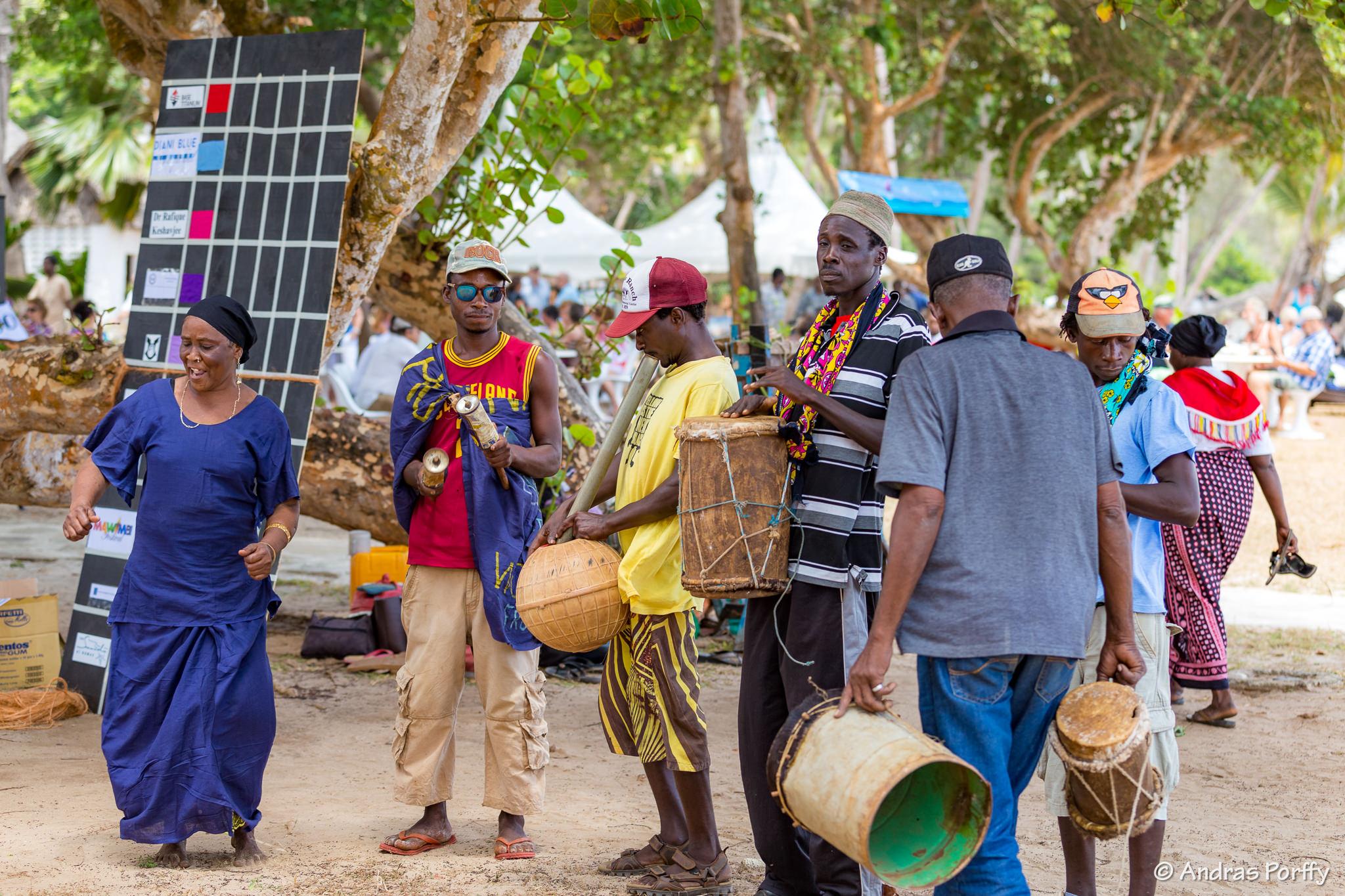Band at Diani Regatta Kenya