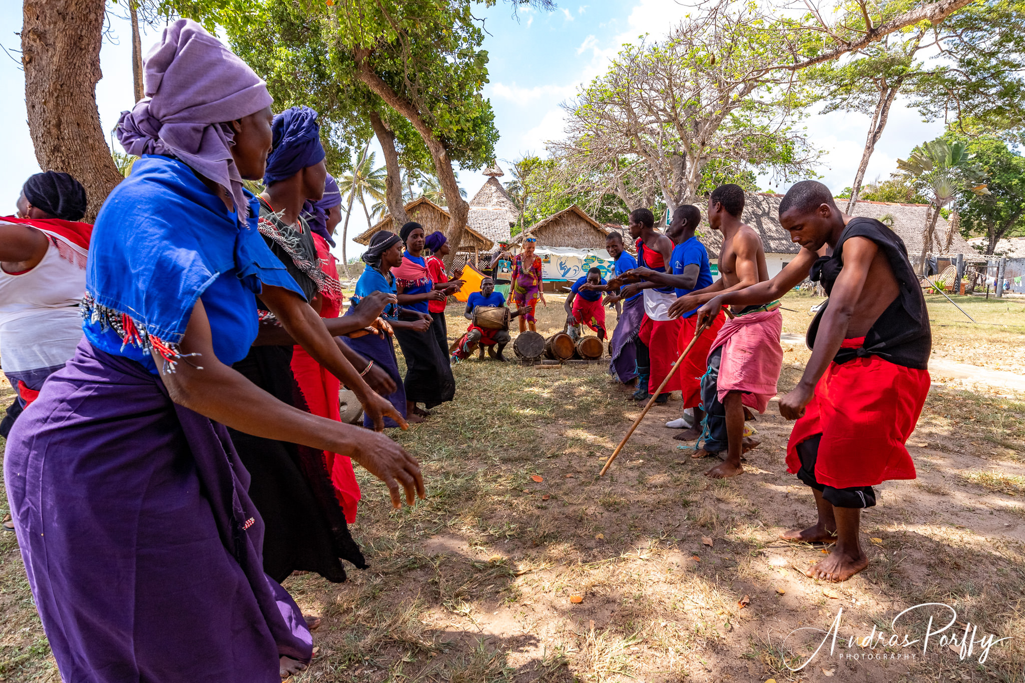 Dancing with bells and drums diani regatta kenya