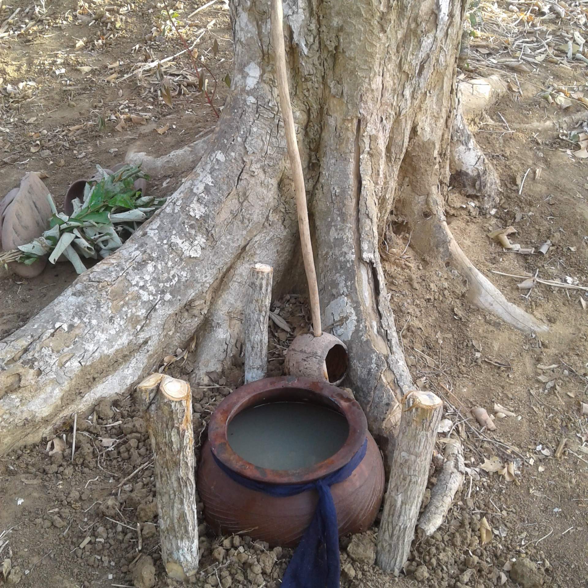 Ritual pot and ladle mijikenda kenya coast