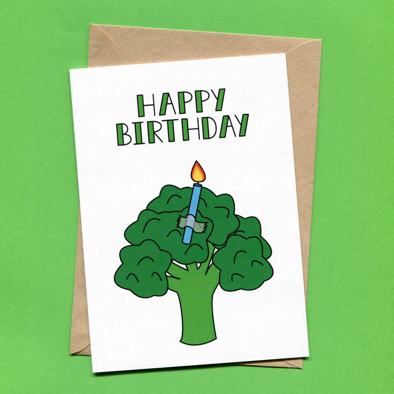 Catalogue_Things by Bean Birthday Broccoli Greeting Card.jpg