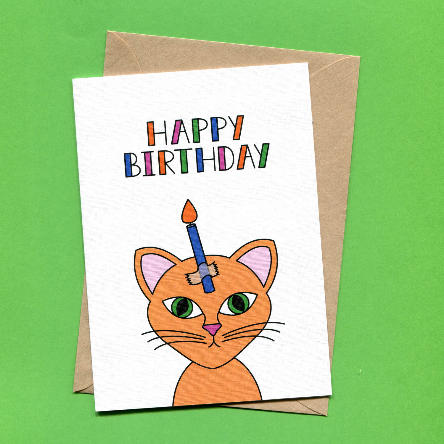 Catalogue_Things by Bean Birthday Cat Greeting Card.jpg